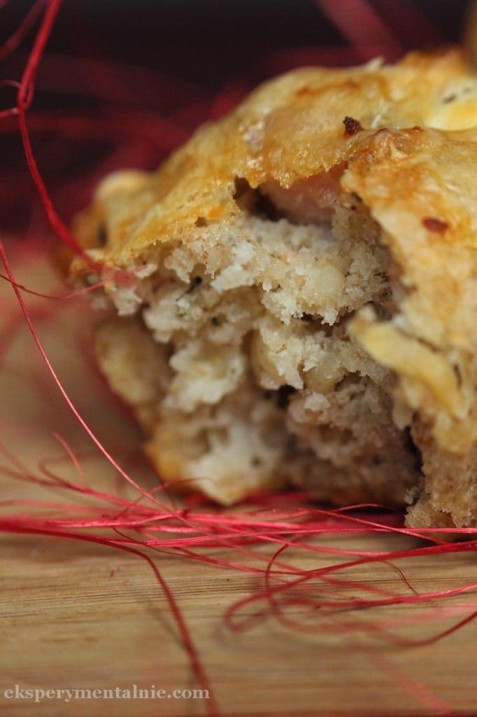 muffinki z szynką