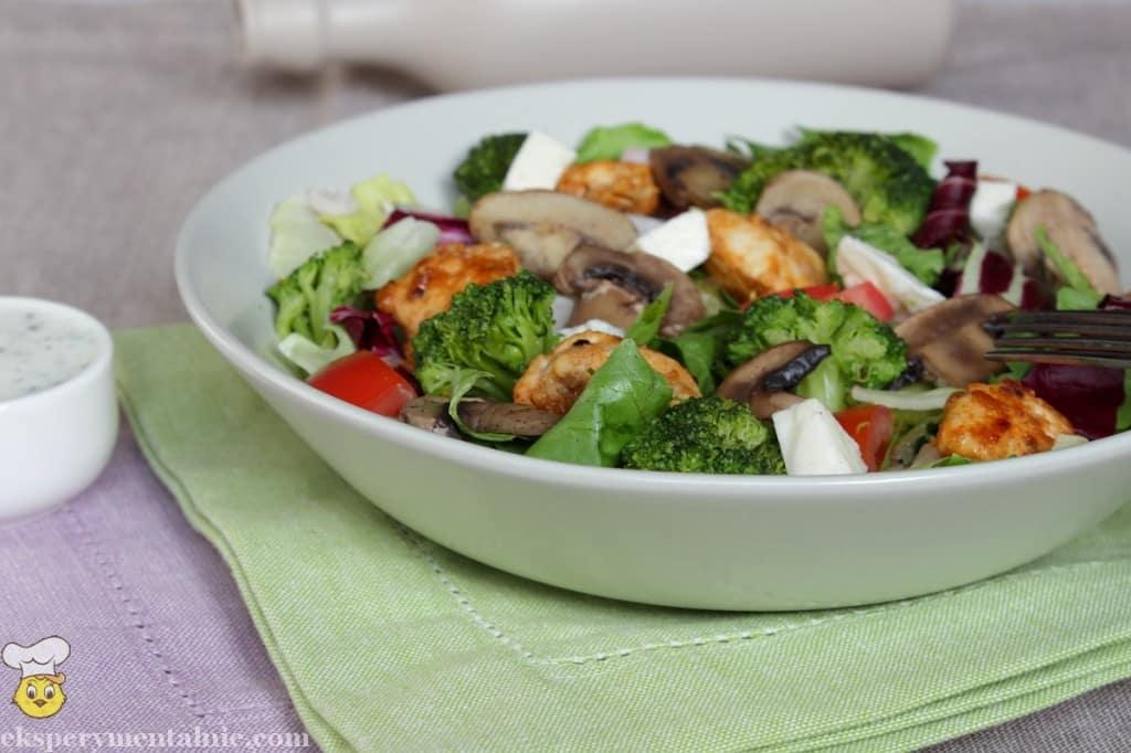 sałątka z brokułami