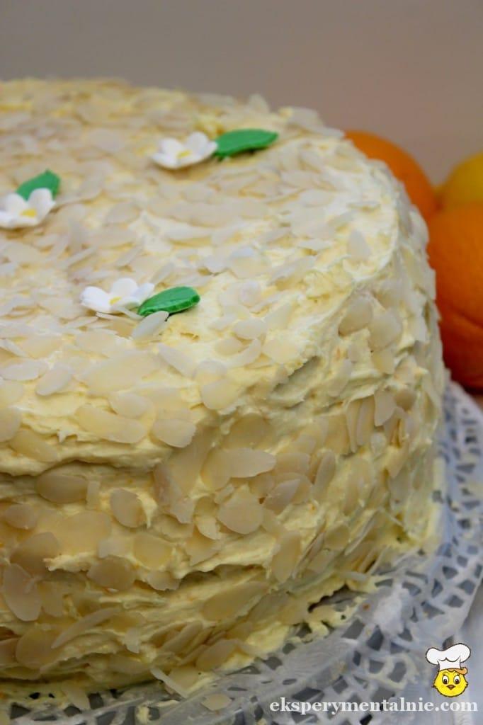 tort cytrynowo-pomaranczowy